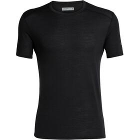 Icebreaker Amplify Koszulka z krótkim rękawem Mężczyźni, black